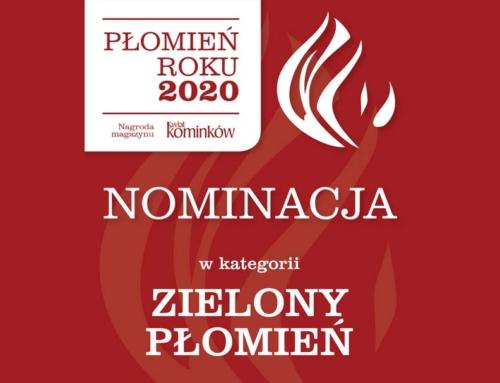 Nominacja do nagrody Płomień Roku 2020
