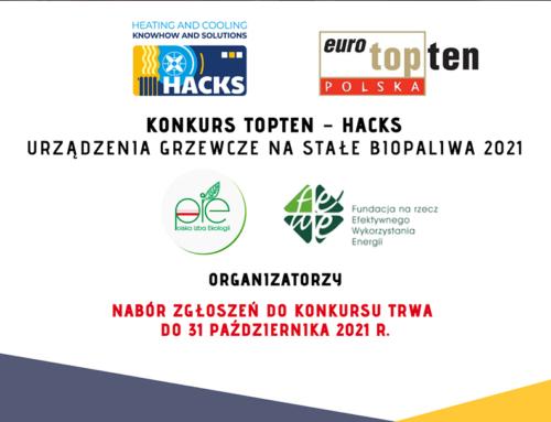 Konkurs TOPTEN-HACKS 2021
